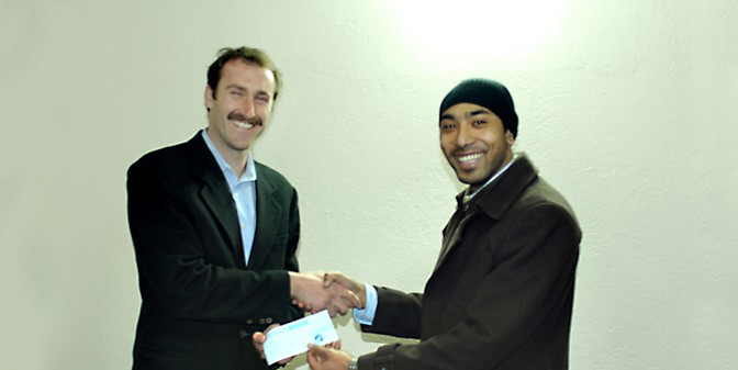 Cash Donation to NYAYA Health